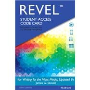 REVEL for Writing for the Mass Media  -- Access Card