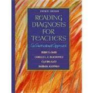 Reading Diagnosis for Teachers : An Instructional Approach