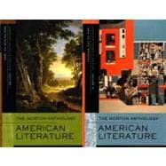 The Norton Anthology American Literature: Shorter, 2 Volume Set