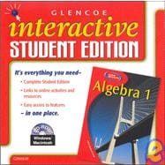 Algebra 1, Interactive Student Edition CD-ROM