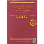 Diagnostic and Statistical Manual of Mental Disorders : DSM-IV