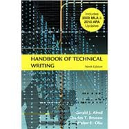 Handbook of Technical Writing with 2009 MLA and 2010 APA Updates