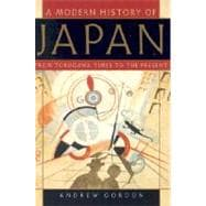 A Modern History of Japan; From Tokugawa Times to the Present
