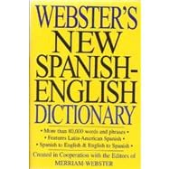 Webster's New Spanish-english Dictionary