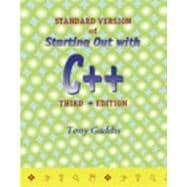 Standard Version of Starting Out With C++