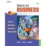 Intro To Business: Finance, Marketing, Operations, Management