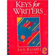 Keys for Writers : A Brief Handbook