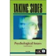 Taking Sides: Clashing Views on Controversial Psychological Issues