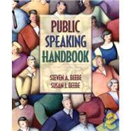 Public Speaking Handbook (with Study Card)