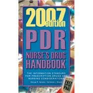 PDR Nurse's Drug Handbook 2007