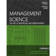 Management Science: The Art of Modeling with Spreadsheets, 3rd Edition