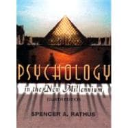 Psychology in the New Millennium (Non-InfoTrac Version)