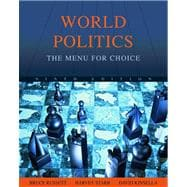 World Politics : The Menu for Choice