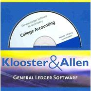 K & A General Ledger Software for Heintz/Parry�s College Accounting