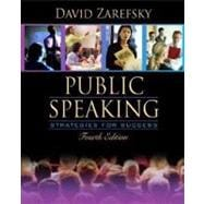 Public Speaking: Strategies for Success (with Study Card)