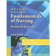 Skills Checklist for DeLaune/Ladner�s Fundamentals of Nursing, 4th