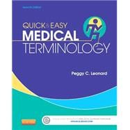 Quick & Easy Medical Terminology (Book with Access Code)