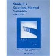 Multivariable Student Solutions Manual for Thomas' Calculus