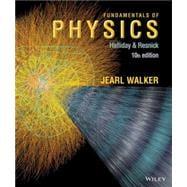 Fundamentals of Physics Tenth Edition