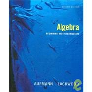 Aufmann, Beginning & Intermediate Algebra 2e