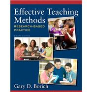 Effective Teaching Methods Research-Based Practice Plus Video-Enhanced Pearson eText -- Access Card Package