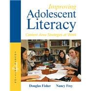 Improving Adolescent Literacy Content Area Strategies at Work, with Enhanced Pearson eText -- Access Card Package 9780134170732R