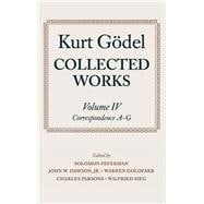 Collected Works  Volume IV: Correspondence, A-G