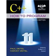 C++ How to Program plus MyProgrammingLab with Pearson eText -- Access Card Package