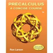 Precalculus A Concise Course