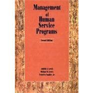 Management of Human Services Programs