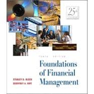 Foundations of Financial Management with Self-Study Software CD-ROM + Powerweb