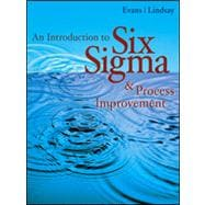 An Introduction to Six Sigma and Process Improvement (with CD-ROM)