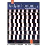 Analytic Trigonometry with Applications, 10th Edition