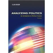 Analyzing Politics (with InfoTrac)