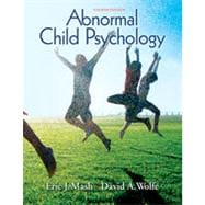 Abnormal Child Psychology, 4th Edition
