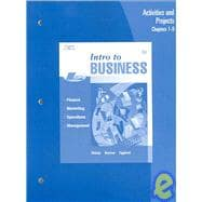 Activities and Projects, Units 1-20 for Dlabay/Burrow/Eggland�s Intro to Business, 6th
