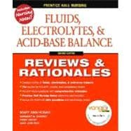 Prentice Hall Reviews & Rationales Fluids, Electrolytes & Acid-Base Balance