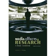 Media Effects Research: A Basic Overview, 3rd Edition