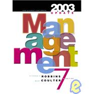 Management : Traditional Approach/Balance Coverage, 2003 Update