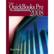 Using Quickbooks Pro 2008 for Accounting (with CD-ROM)