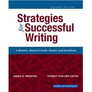 Strategies for Successful Writing Plus MyWritingLab with Pearson eText -- Access Card Package