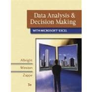 Data Analysis and Decision Making with Microsoft Excel (with CD-ROM, InfoTrac, and Decision Tools and Statistic Tools Suite)