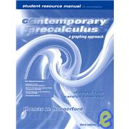 Student Solution's Manual in Practice Contemporary Precalculus: A Graphing Approach
