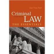 Criminal Law The Essentials