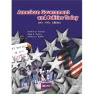 American Government & Politics Today, 2001-2002 w/ cd