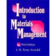 Intro to Materials Management (3rd Ed)