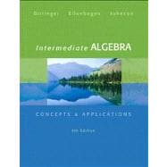 Intermediate Algebra Concepts & Applications Plus MyMathLab/MyStatLab -- Access Card Package