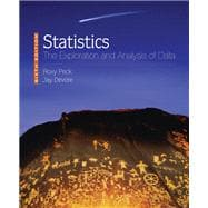 Statistics The Exploration & Analysis of Data