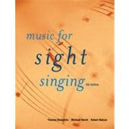 Music for Sight Singing, 5th Edition