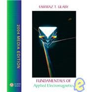 Fundamentals of Applied Electromagnetics, 2004 Media Edition